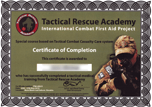 Tactical Rescue Academy - TCCC