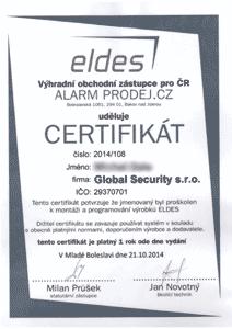 Eldes - zabezpečovací systémy