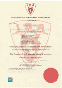 International Bodyguards Association - D.A.R.T.