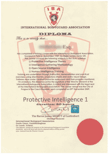 International Bodyguards Association - Protective Intelligence